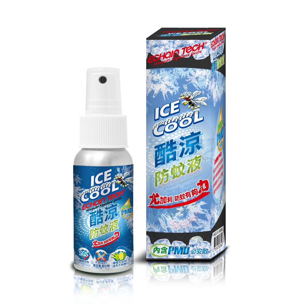 ECHAIN TECH 熊掌防蚊液 -酷涼型60ml (PMD配方)