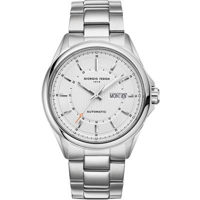 GIORGIO FEDON 1919 Fedonmatic VII 義大利經典機械腕錶-白