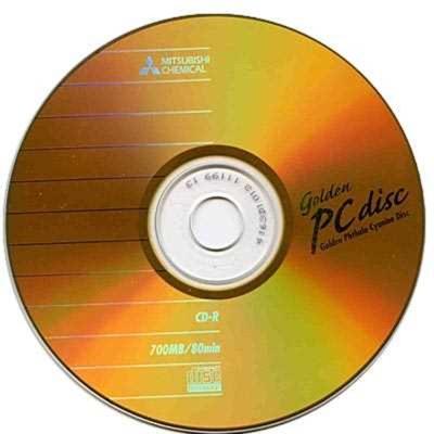 三菱 80min 52X CD-R經典白金片(100片)