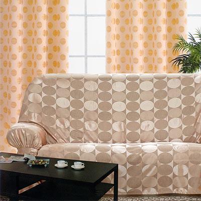 《布安於室》普普風DIY三人座沙發罩-咖啡
