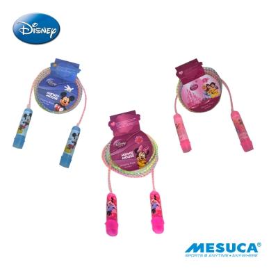 凡太奇-Disney-彩虹膠柄跳繩-米奇、米妮、公主-快速到貨-隨機