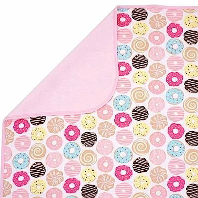 Baby unicorn 粉紅甜甜圈多功能防水隔尿墊野餐墊