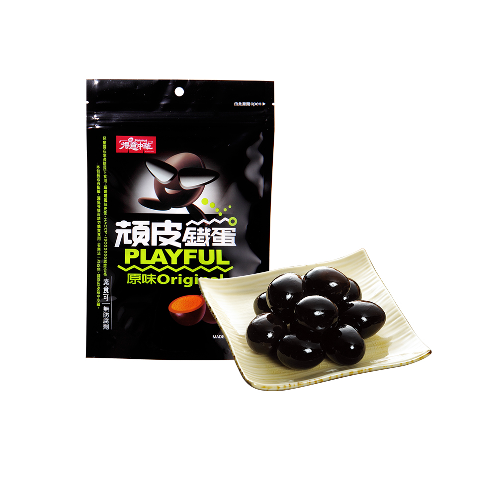 得意中華 頑皮鐵蛋-原味(210g)