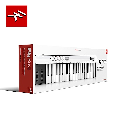IK Multimedia iRig Keys 37鍵迷你控制鍵盤