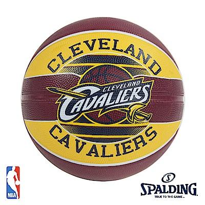 SPALDING 克里夫蘭 騎士 Cavaliers 隊徽籃球 SPA83504