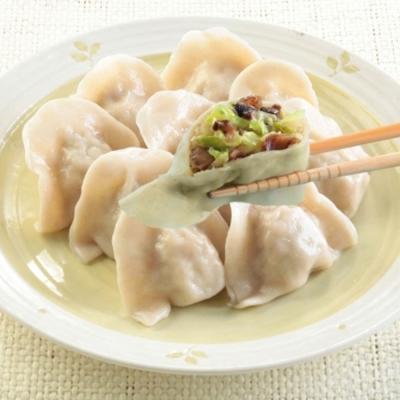 台北士東市場123水餃 燕麥皮素食水餃(10顆/盒)