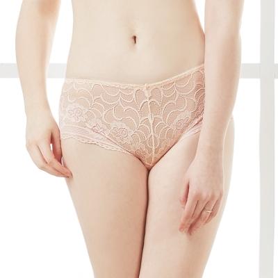 可蘭霓Clany  沉著暮色蕾絲M-XL內褲 春漾膚