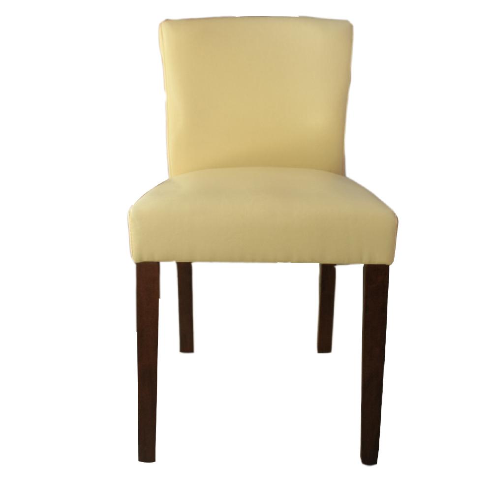 ROSA羅莎 卡登馬進口皮洽談椅/休閒椅-米白