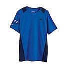 KAPPA義大利 時尚舒適型男KOOL DRY吸濕排汗衫 藍 新丈青