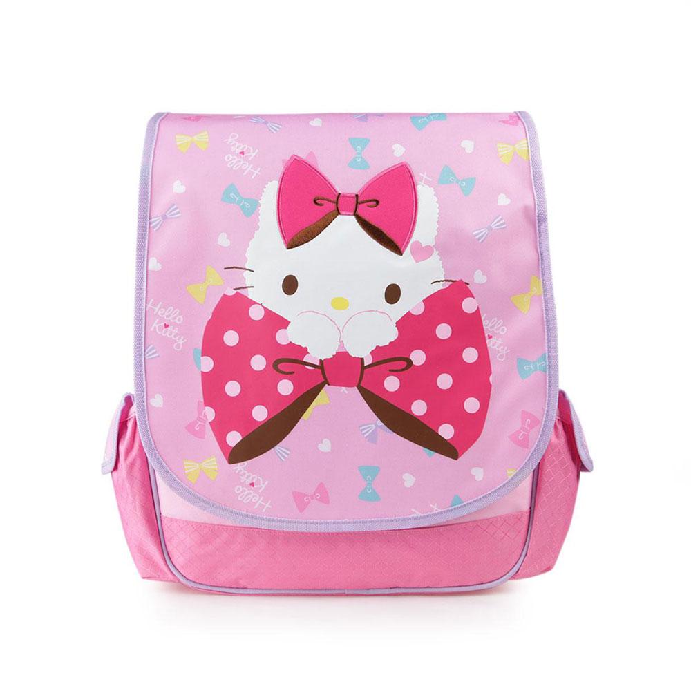 Sanrio HELLO KITTY可愛緞帶系列16吋兒童後背包
