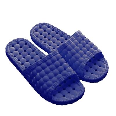 韓版超柔浴室瀝水防滑拖鞋(男款3色)-2雙入