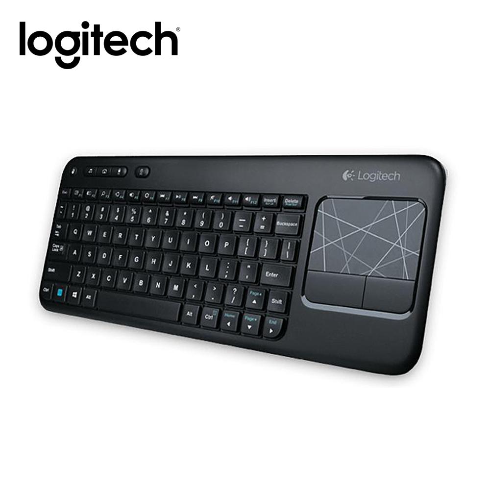 羅技智慧電視好幫手 無線觸控板鍵盤 K400r