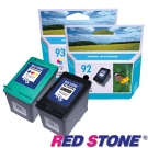 RED STONE for HP NO.92+NO.93環保墨水匣(一黑一彩)優惠組