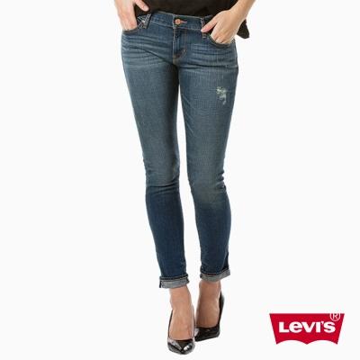 Levis 女款 711 中腰緊身窄管牛仔長褲 亞洲版型 赤耳