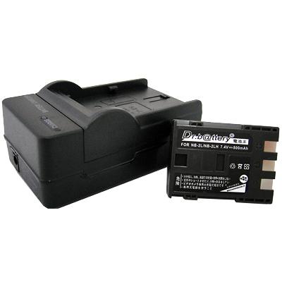 電池王 Canon NB-2L 高容量鋰電池+充電器組