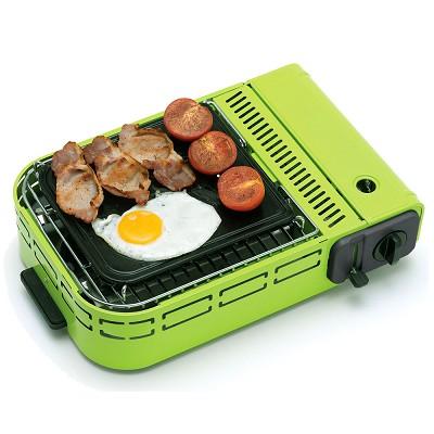 英國-OUTBACK-歐倍特U-BBQ多用卡式休閒爐SG930-鮮綠