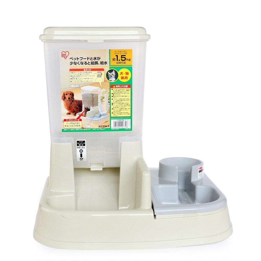 日本IRIS 自動給食器 白色 (JQ-350-2)