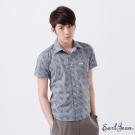 Earl Jean-滿版印花短袖襯衫