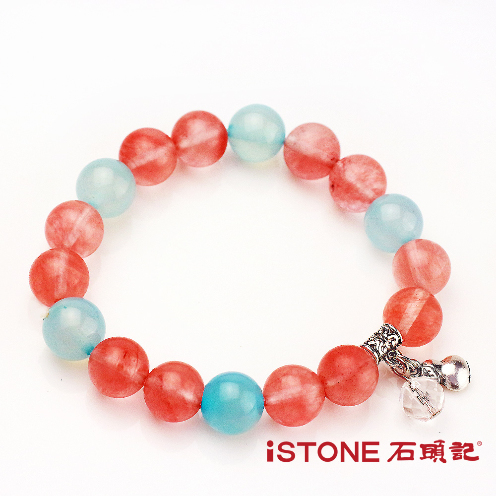 石頭記 草莓晶10mm手鍊-幸福愛情石