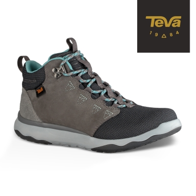 TEVA 美國-女 Arrowood WP 輕量防水機能休閒鞋 (巧克力灰)