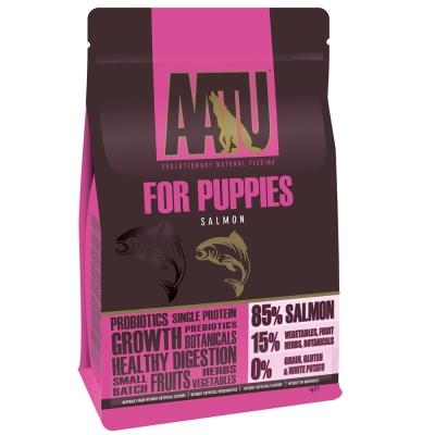 奧圖AATU超級8《皇室85%鮭魚》低敏無穀挑嘴幼犬糧5KG