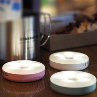 LED馬卡龍充電觸控燈 小夜燈 露營燈