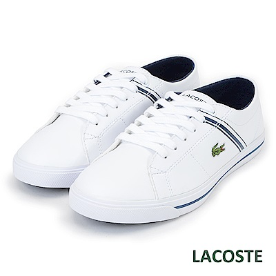 LACOSTE 女用休閒鞋-白