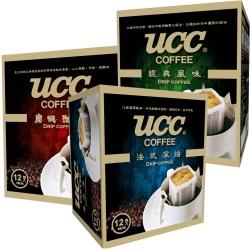 UCC 濾掛式咖啡(8gx12入)