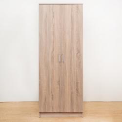 Bernice-亞諾2.3尺兩門衣櫃(原木色)-70x51x180cm