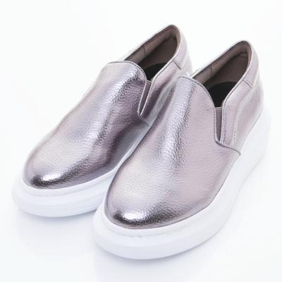 XCESS-女休閒鞋GW029GSL-灰銀