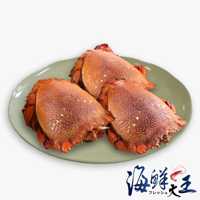海鮮大王 澳洲肥厚旭蟹*8隻組( 450g±10%/隻)