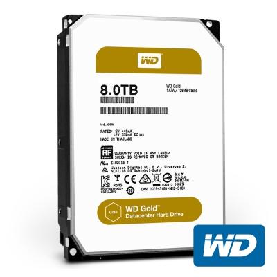 WD8003FRYZ Gold 8TB 3.5吋企業級硬碟
