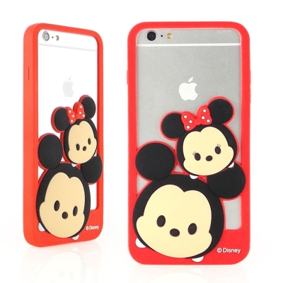 TSUMTSUM iPhone 6 plus(5.5)  矽膠邊框軟套