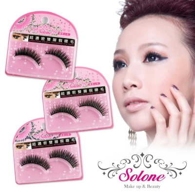 Solone-超濃密雙層假睫毛-任選3件-149