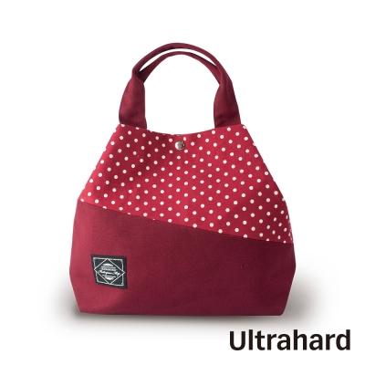 Ultrahard 美好年代系列 兩用托特包 –點點撞色(紅)