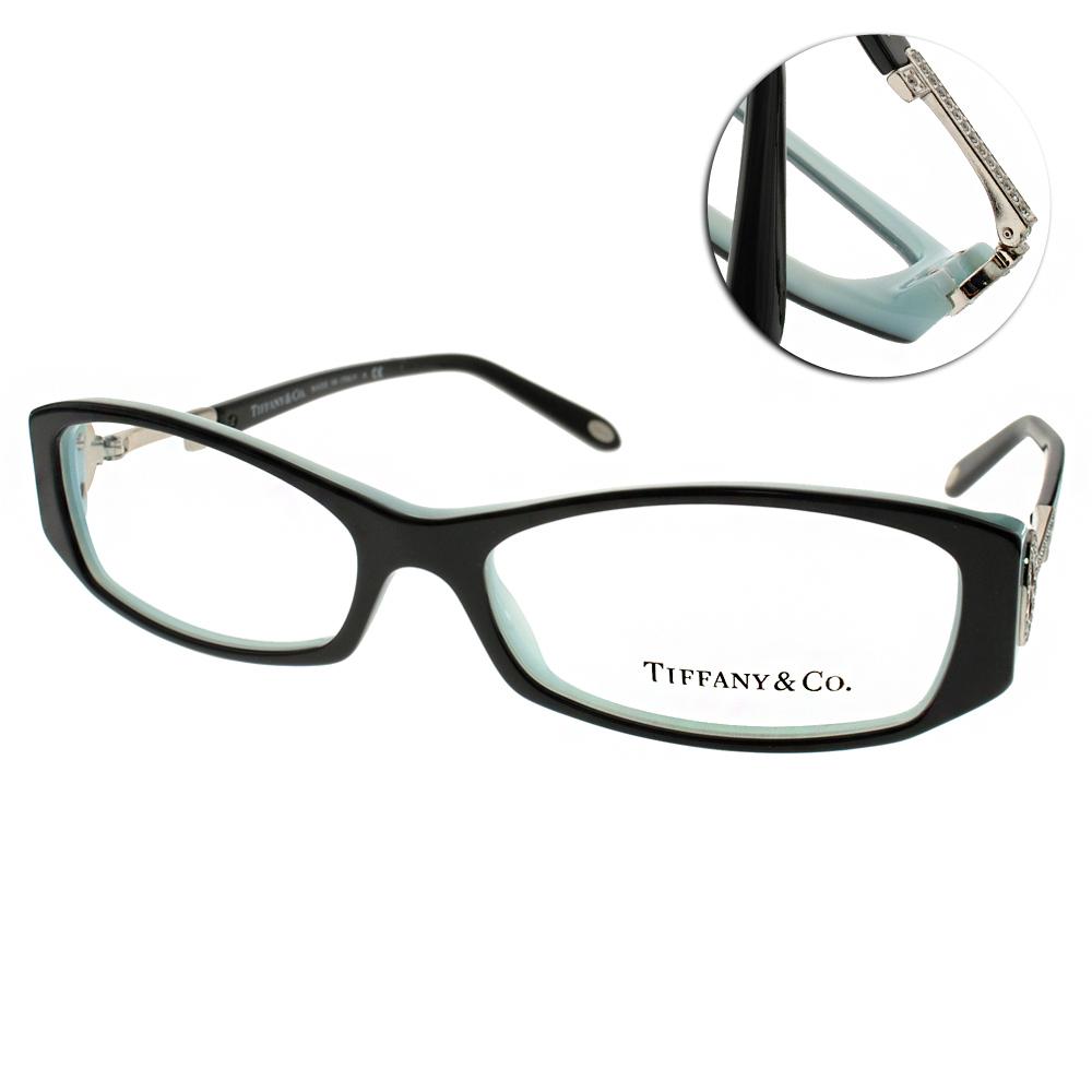 Tiffany&CO. 眼鏡 經典永恆/黑-銀#TF2063 8001