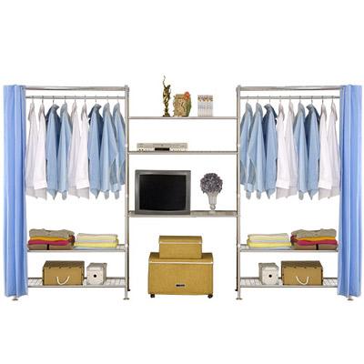 巴塞隆納-W3型90+90+90cm置物/收納衣櫥架