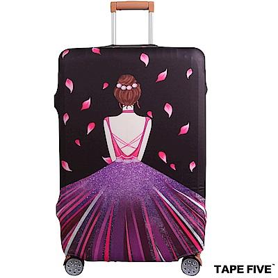 Tape Five 高彈性行李箱套-高貴背影 (適用27-29吋行李箱)