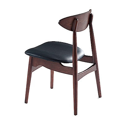 AS-多明尼卡胡桃皮墊餐椅-46x52x81cm