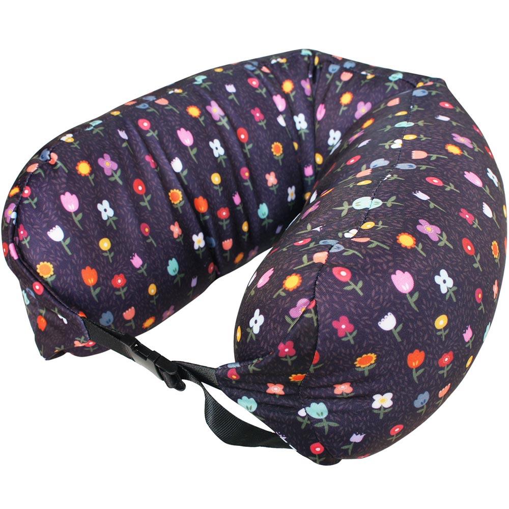 DQ 扣式顆粒護頸枕(花園)