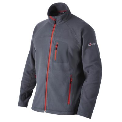 【Berghaus貝豪斯】男款刷毛保暖外套H22M15-灰