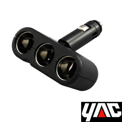 [快] YAC調整型三孔電源插座擴充器
