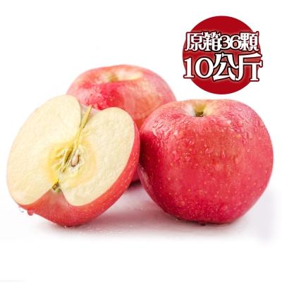 果之家 日本青森青森無蠟原裝極品蜜蘋果10kg1箱(36顆/箱)