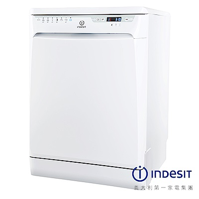 INDESIT 英迪新 DFP58 白色獨立式洗碗機