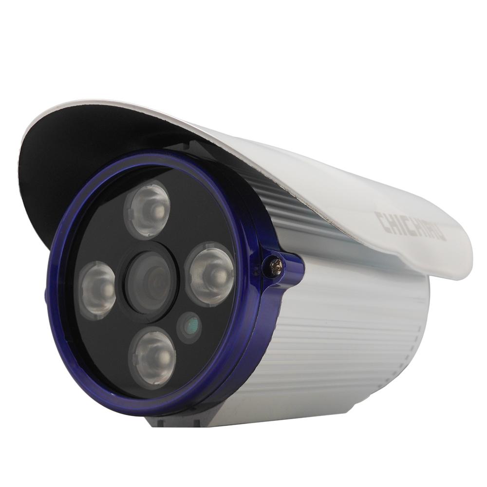 【CHICHIAU】AHD 720P 4陣列燈1000條雙模切換百萬夜視攝影機