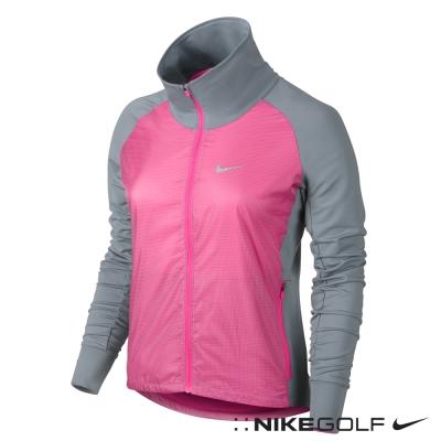 Nike-Golf-女-魏聖美休閒快速排汗外套-桃