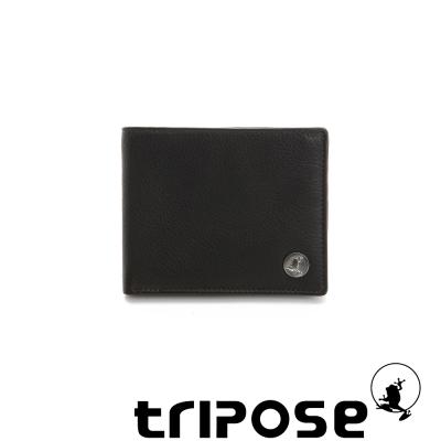 tripose-Yuppie系列經典紳士款短夾-咖