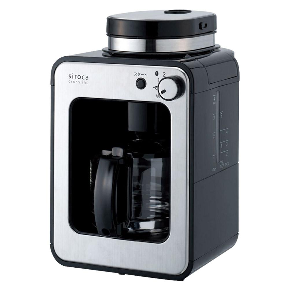 日本siroca crossline自動研磨咖啡機STC-408