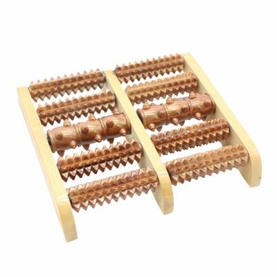 木質足部滾輪按摩器(AD-203)