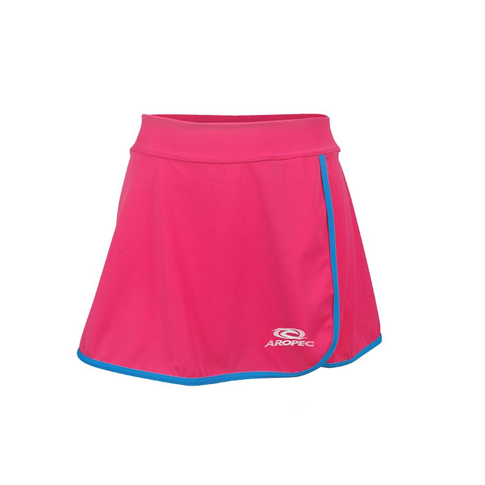 AROPEC Lycra Skirt 女款運動外搭短襯裙 深桃紅